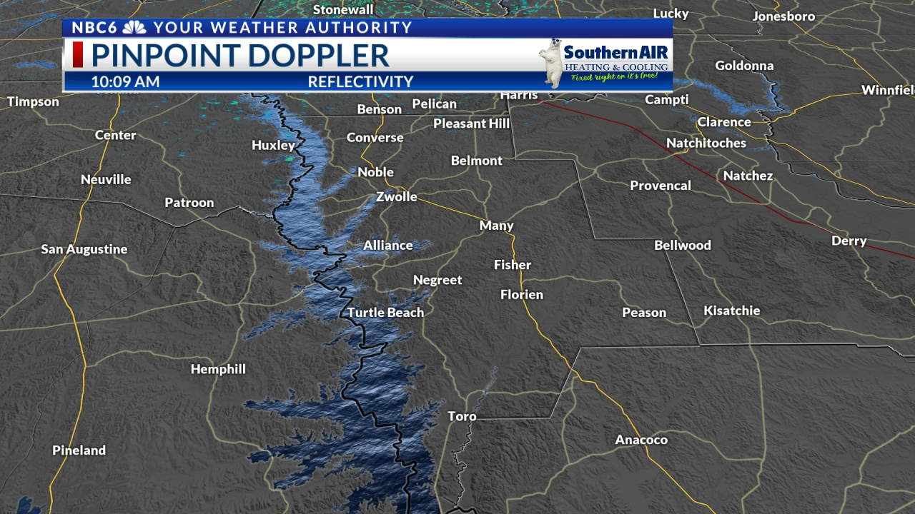 Pinpoint Doppler Sabine Parish
