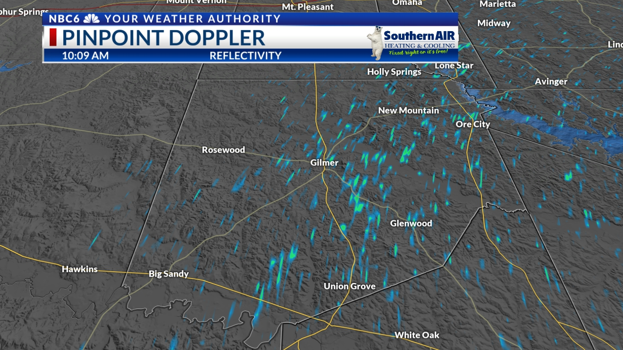 Pinpoint Doppler Upshur County