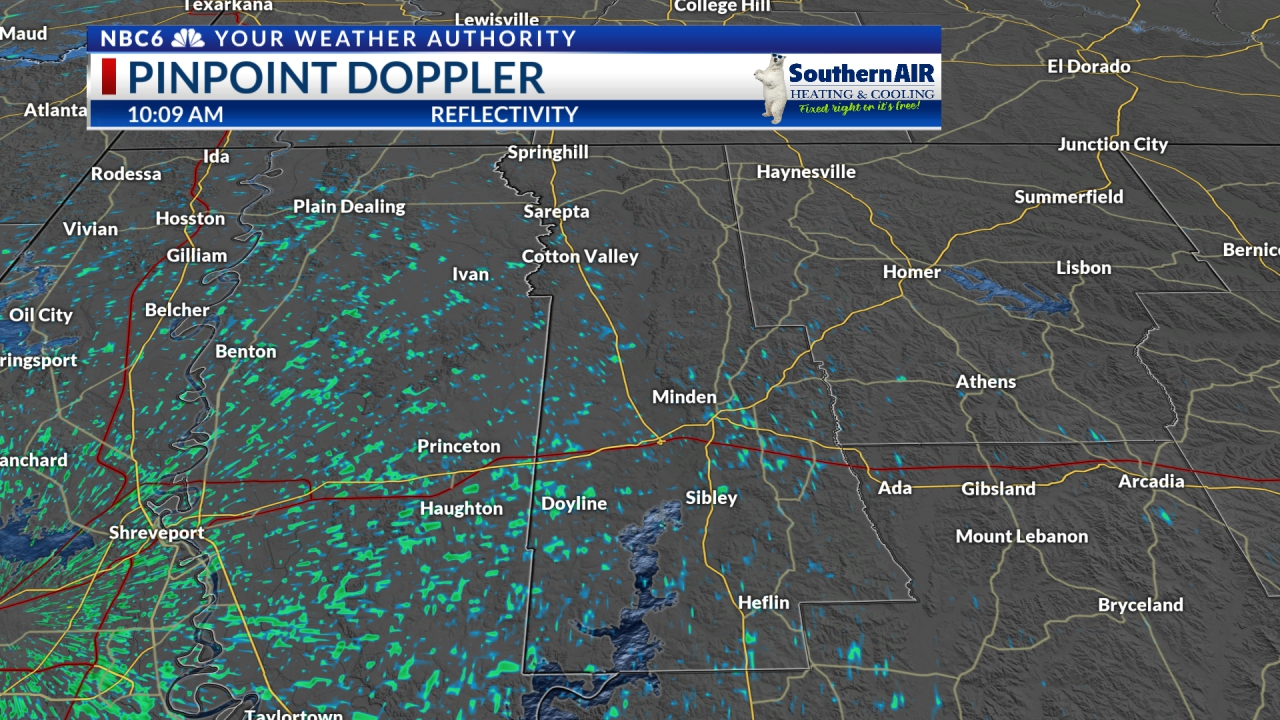 Pinpoint Doppler Webster Parish